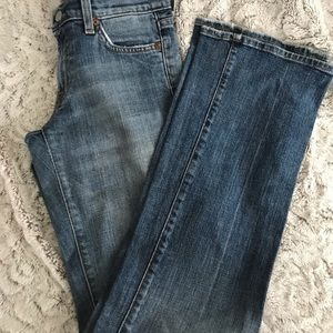 7 For All Mankind Jeans - Women's designer Seven jeans size 26 bootcut
